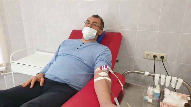 КСОРС принял участие в акции «Стань донором» в день памяти воинов-интернационалистов