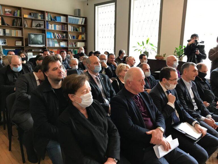 КСОРС принял участие в Круглом столе, посвящённом созданию новой модели избирательной системы Абхазии