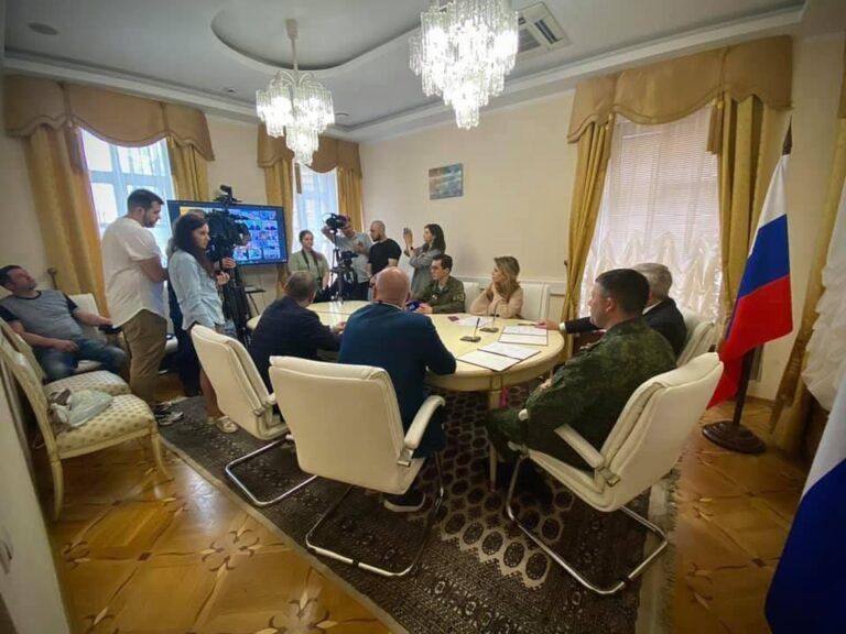 КСОРС принял участие в обсуждении фильма о войне на Донбассе «Ополченочка»