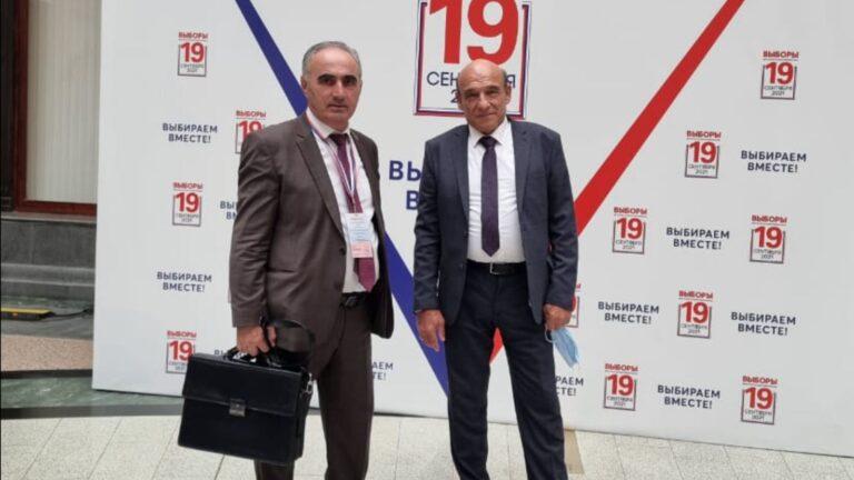 Член КСОРС Алексей Романенко находится в Москве в качестве международного наблюдателя на выборах в Госдуму РФ