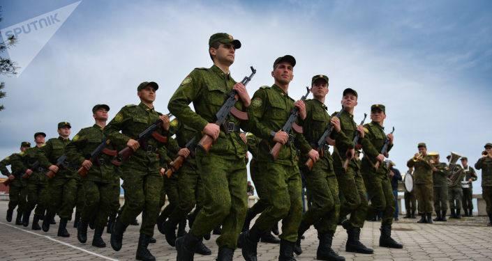 11 октября — день создания Вооруженных сил Абхазии