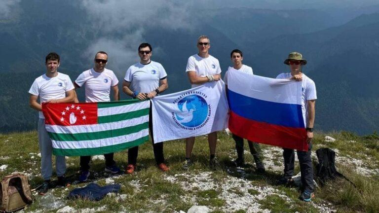 КСОРС Абхазии принял участие в восхождении на гору Пшегишхва