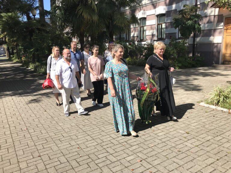 КСОРС возложил цветы к могиле великого ученого Юрия Воронова в годовщину его гибели
