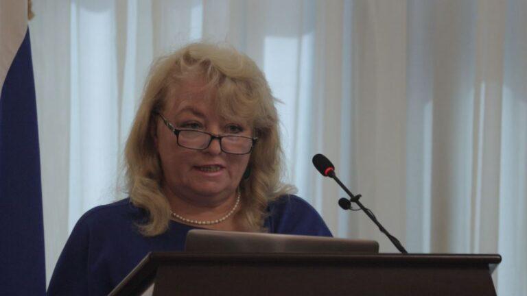 Выступление Валентины Корниенко наII Страновой конференции русских соотечественников