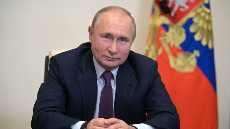 Поздравление с Днём рождения Президенту России
